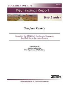 San Juan Key Leader Key Findings Report