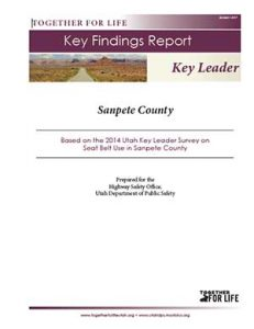 Sanpete Key Leader Key Findings Report