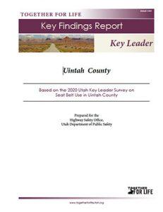Uintah Key Leader Key Findings Report