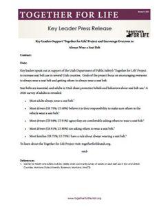 Key Leader Press Release - CH1