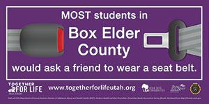 School/Student Banner Box Elder