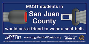 Student Banner San Juan High School